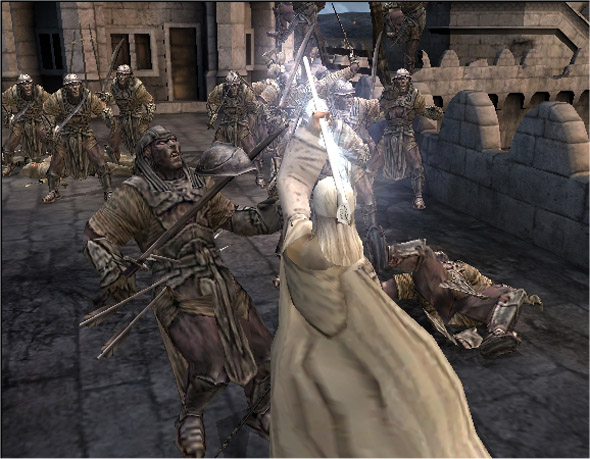 The Lord of the Rings: The Return of the King for PlayStation 2 image