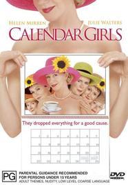 Calendar Girls on DVD image