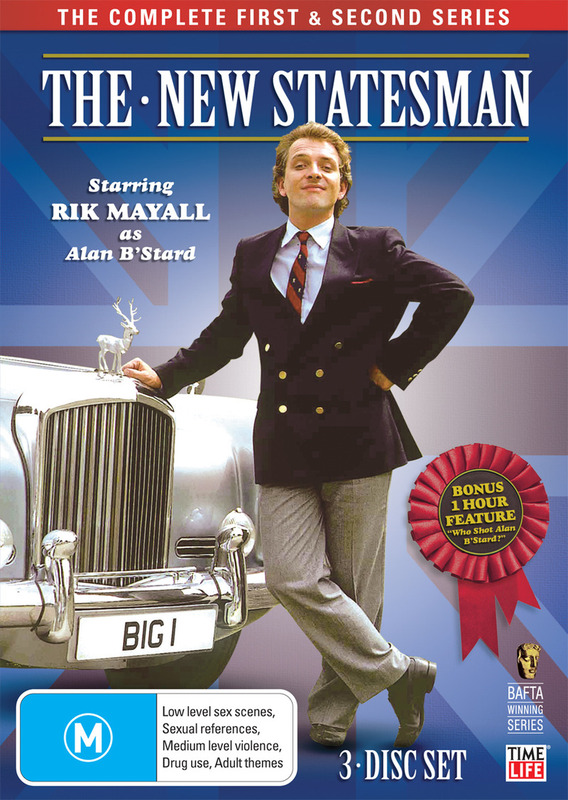 The New Statesman - The Complete 1st & 2nd Series on DVD
