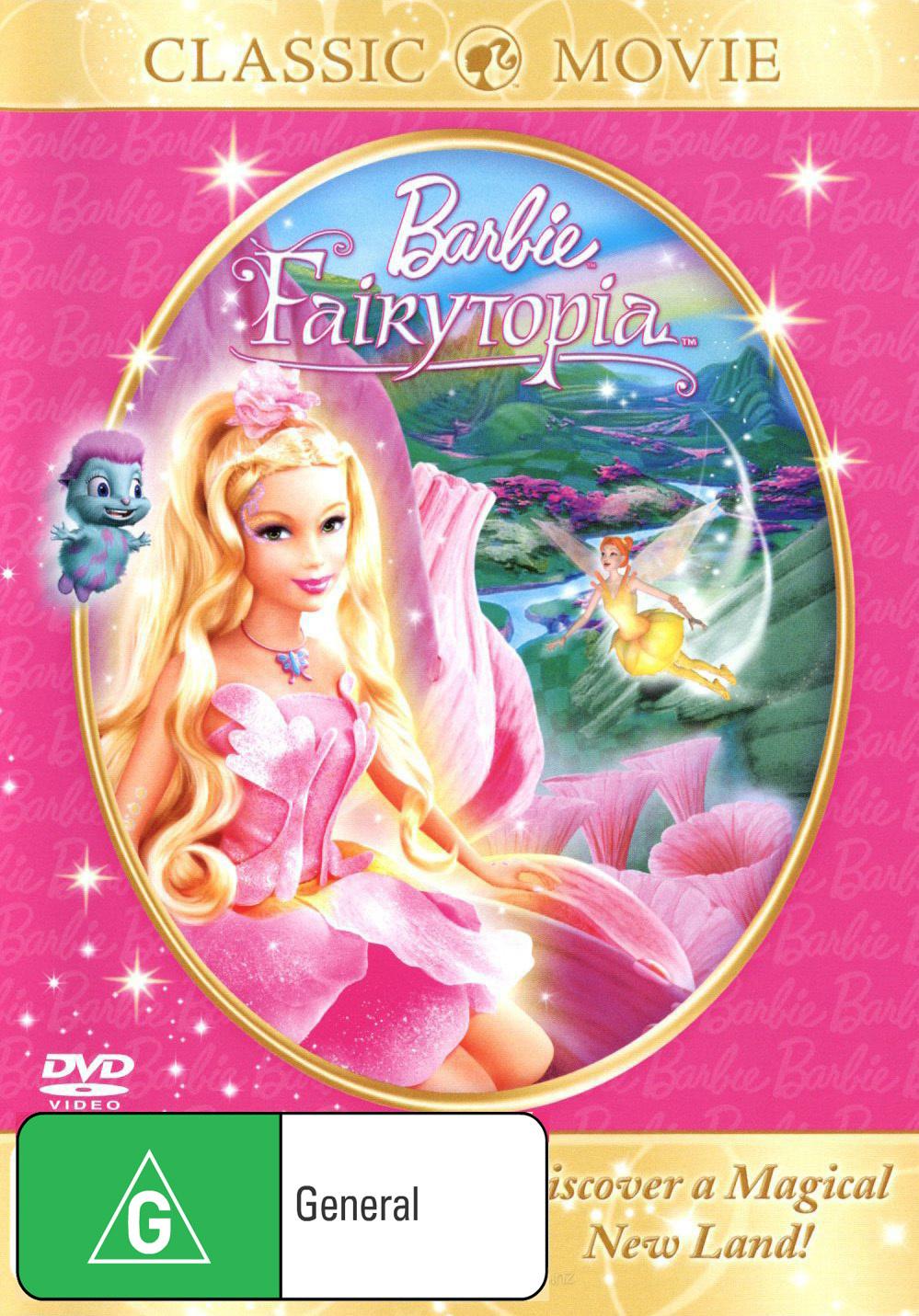 Barbie Fairytopia on DVD image