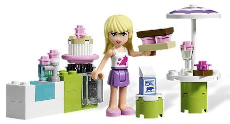 LEGO Friends - Stephanie's Outdoor Bakery (3930) image