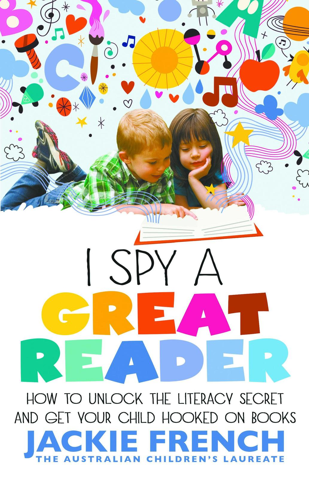 I Spy a Great Reader by Jackie French image