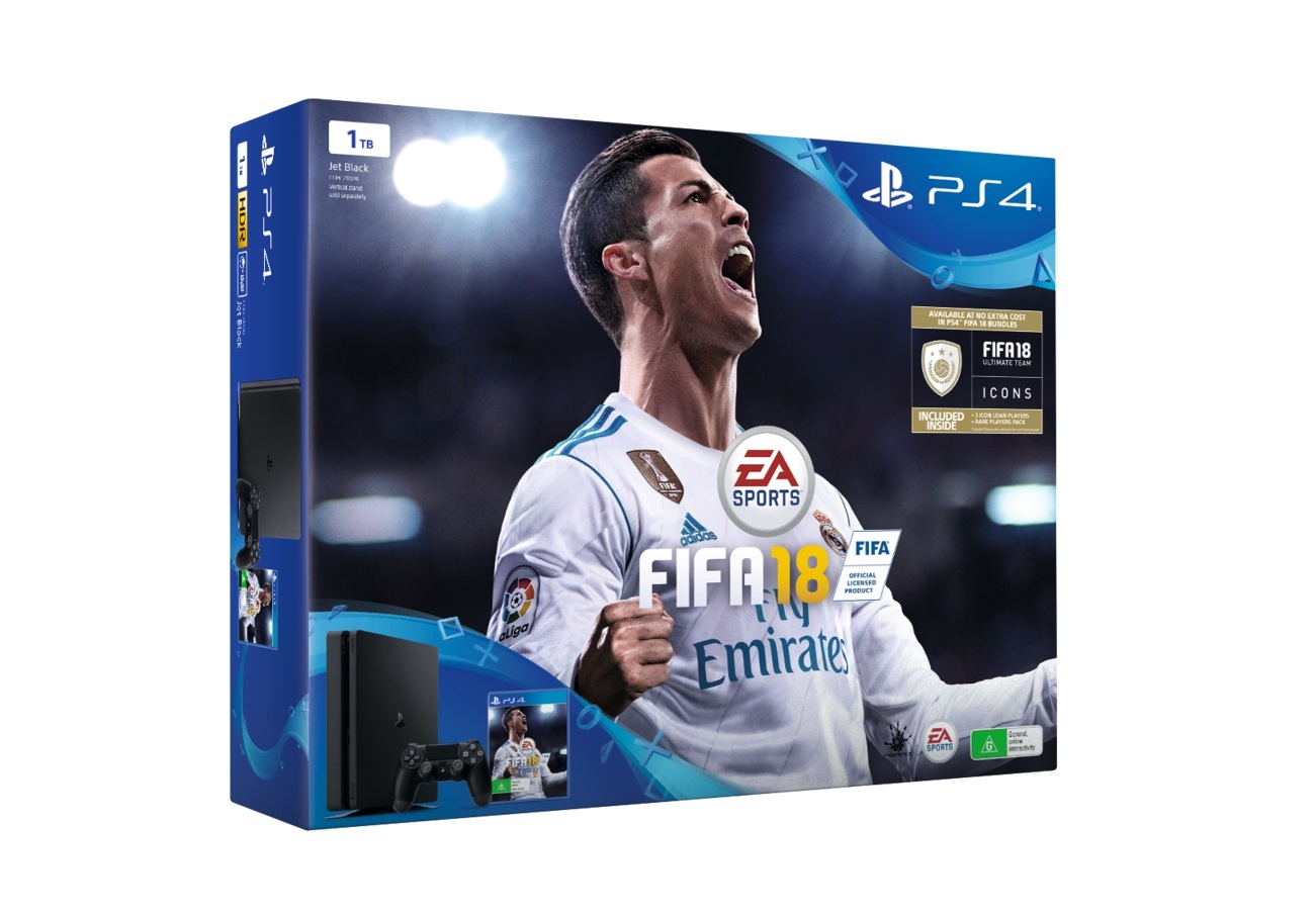 Ps4 Slim 1TB + Fifa 18 [BUNDLE] unboxing - YouTube
