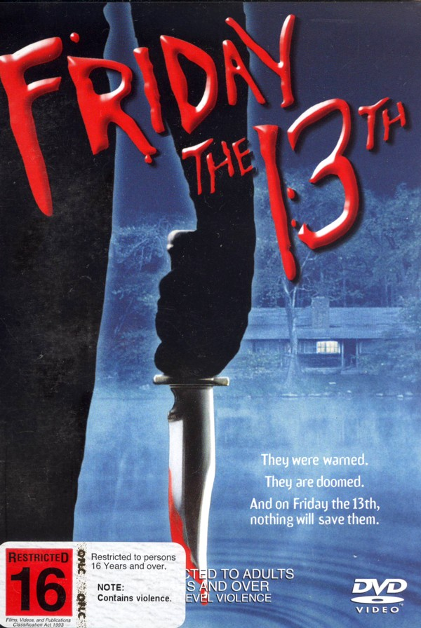 Friday The 13th (1980) on DVD image
