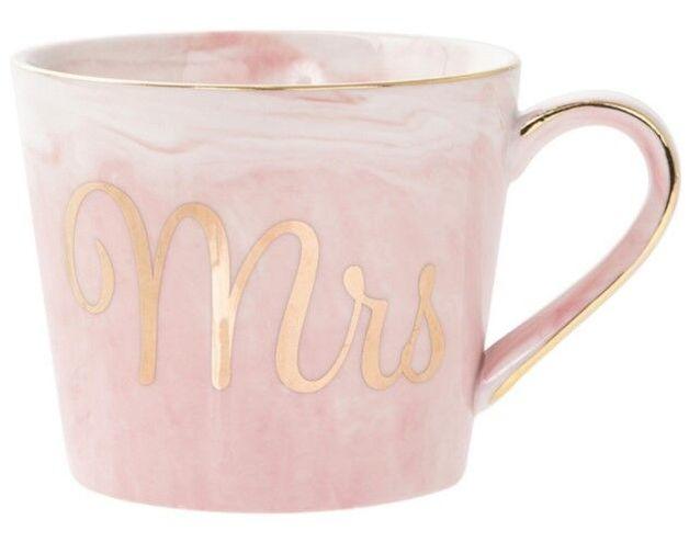 Marble Mug - Mrs