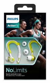 Philips Action Fit Sport Headphones (Lime/White) image