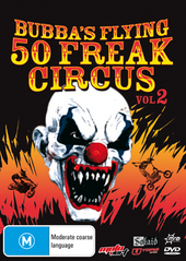 Bubba's Flying 50 Freak Circus - Vol. 2 on DVD