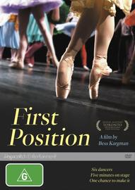 First Position on DVD