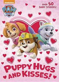 Puppy Hugs and Kisses! (Paw Patrol) by Golden Books image