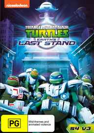 Teenage Mutant Ninja Turtles (2012) - Season 4 Vol 3 - Earth's Last Stand on DVD