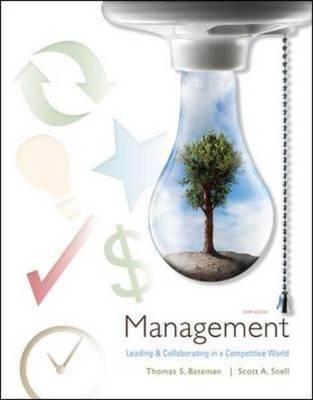 Management by Thomas S Bateman