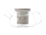 Maxwell & Williams - Lille Glass Teapot with Infuser Grey (700ml)