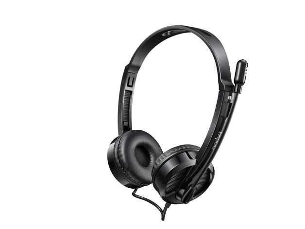 Rapoo H120 USB Stereo Headset - Black