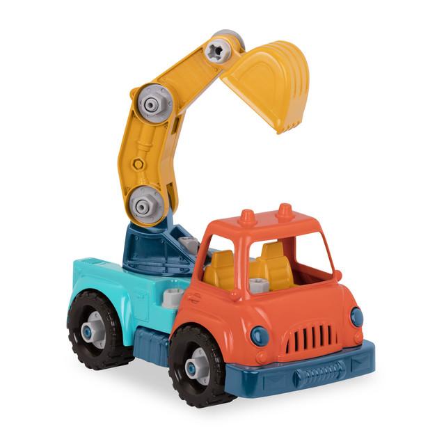 Battat: Wonder Wheels - Take Apart Crane Truck