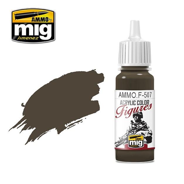 Ammo of Mig Jimenez Figure Paint: Matt Earth FS-34088 (17ml)
