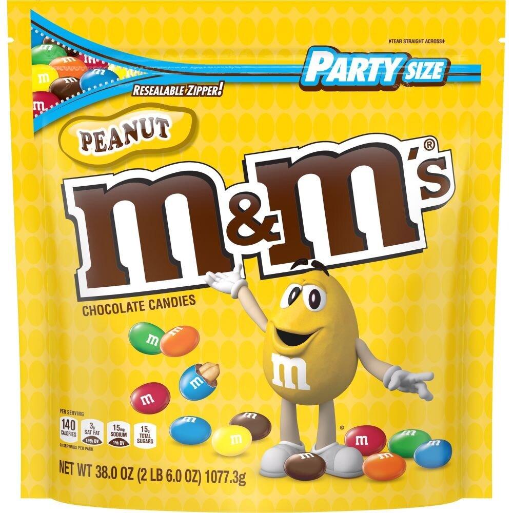 M&Ms Peanut 38oz image