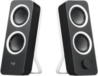 Logitech Z200 Stereo Speakers Midnight Black