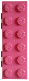 LEGO Stationery - Brick Shaped Pencil Case (Pink) image