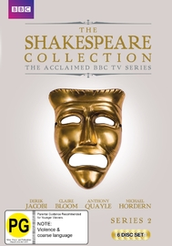 BBC The Shakespeare Collection - Series 2 on DVD