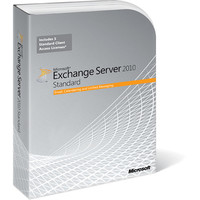Microsoft Exchange Server 2010 Standard English 5 Users CAL