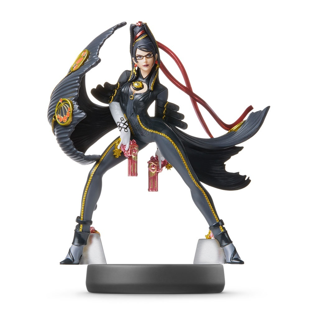 Nintendo Amiibo Bayonetta 2 - Super Smash Bros. Figure for  image