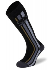 BRBL: Kamchatka Mens Black Ski Socks (Large)