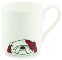 Tiny Grey Mug (Bulldog)