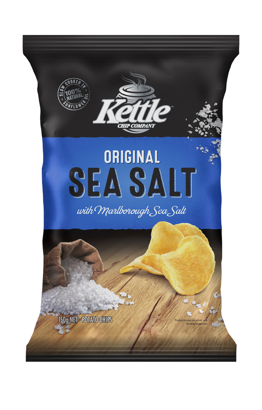 Kettle Chip Company Kettle Sea Salt 150g