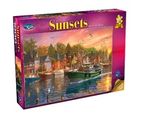Holdson: 1000 Piece Puzzle - Sunsets S2 (Day On The Harbour)