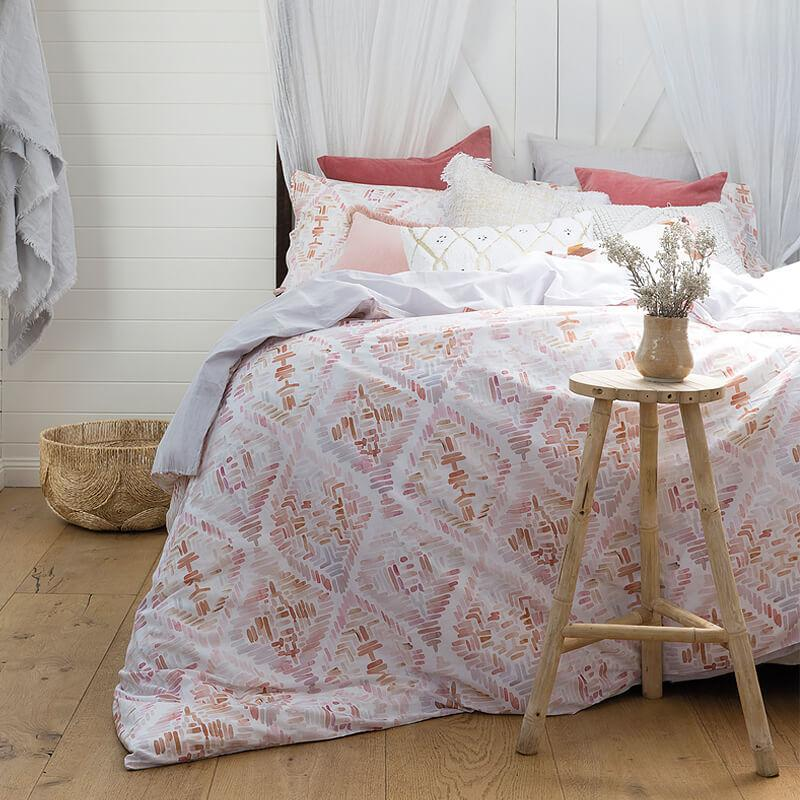Bambury Queen Printed Quilt Cover Set (Magali) image