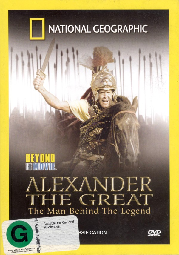 National Geographic - Beyond The Movie:  Alexander The Great on DVD image