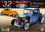 Revell '32 Ford 5 Window Coupe 2'n1 1:25 Model Kit