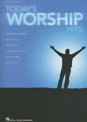 Today's Worship Hits by Hal Leonard Publishing Corporation image