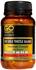Go Healthy: GO Milk Thistle 50000 (60 Capsules)