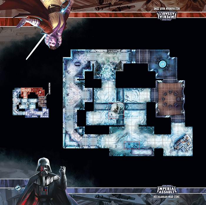 Star Wars: Imperial Assault: Nelvaanian War Zone Playmat image