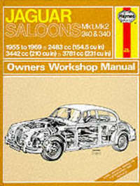 Jaguar Mk.1 and 2, 240 & 340 Owner's Workshop Manual by J.H. Haynes image
