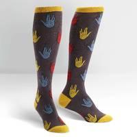 Women's - Salutations Knee High Socks