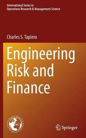 Engineering Risk and Finance by Charles S Tapiero