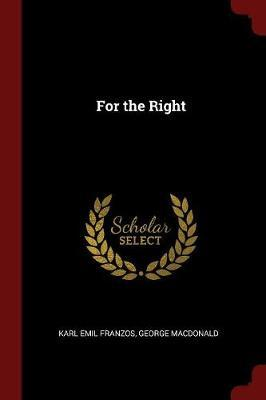 For the Right by Karl Emil Franzos image