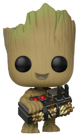Guardians of the Galaxy: Vol. 2 - Groot (with Bomb) Pop! Vinyl Figure image