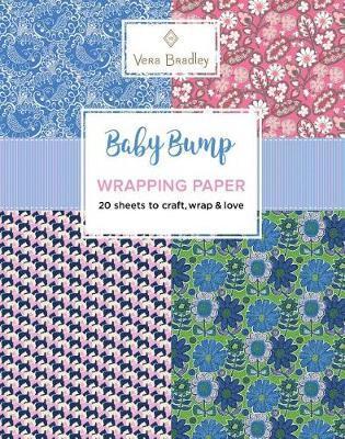 Vera Bradley Baby Bump Wrapping Paper by Vera Bradley