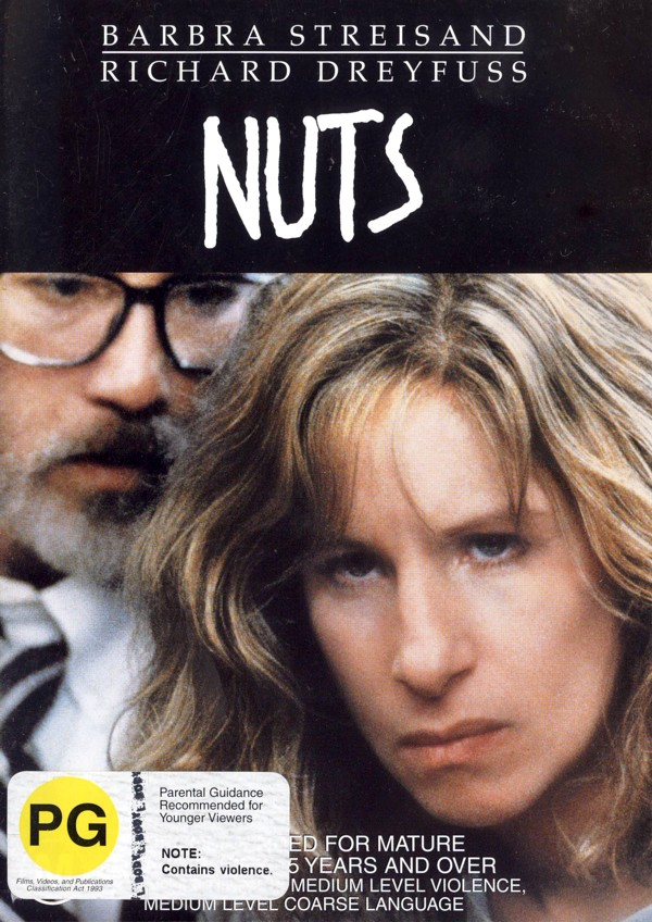 Nuts on DVD image