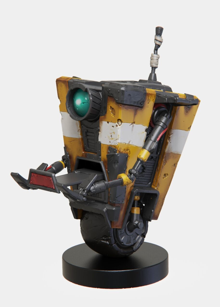 Cable Guy Controller Holder - Borderlands Clap Trap for PS4 image