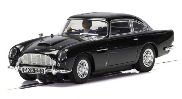 Scalextric: Aston Martin DB5 (Black) - Slot Car