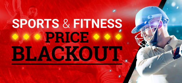 Sports & Fitness - Price Blackout