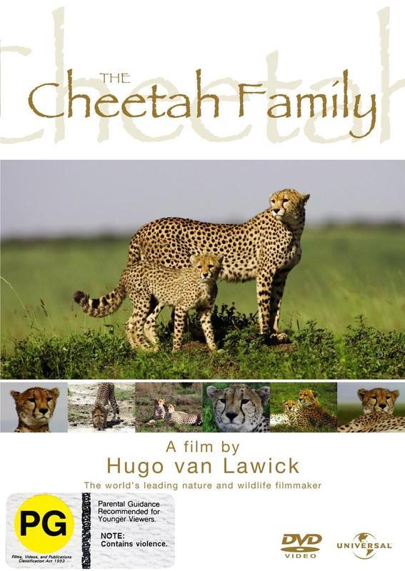 Hugo Van Lawick - The Cheetah Family on DVD