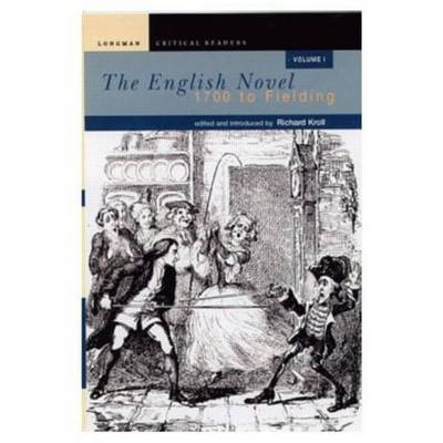 English Novel, Vol I, The