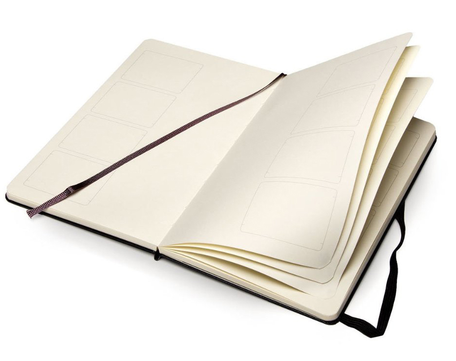 Moleskine Storyboard Notebook (Large, Hard, Black) by Moleskine image