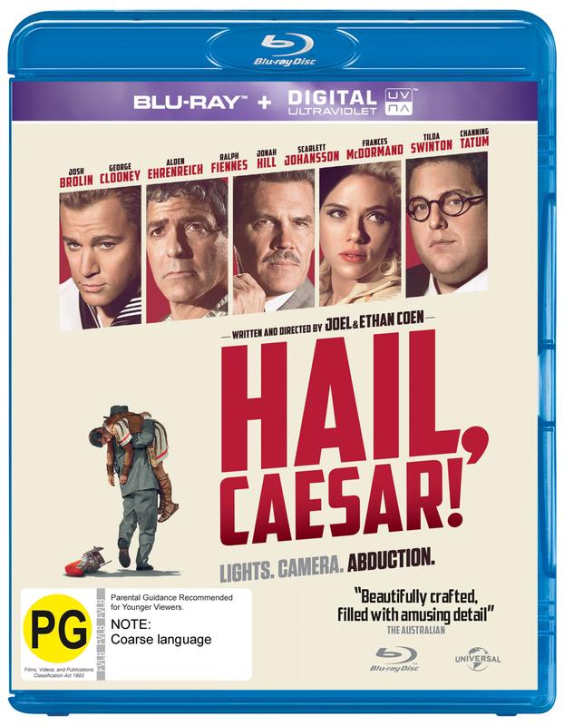 Hail Caesar! on Blu-ray, UV