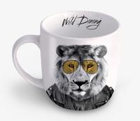 Wild Dining: Ceramic Mug - Lion